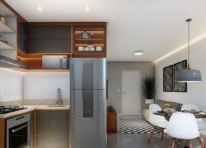 Apartamento tipo 1 - Cozinha