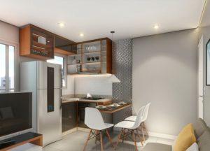 Apartamento tipo 2 - Cozinha