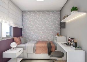 Apartamento tipo 2 - Dormitório 2