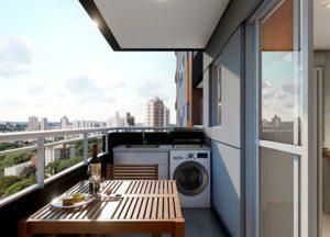 Apartamento tipo 2 - Terraço