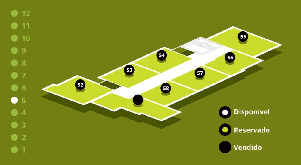 Mapa de Vendas - Andar 5